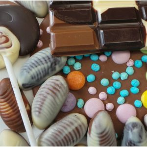 family chocolate making workshop