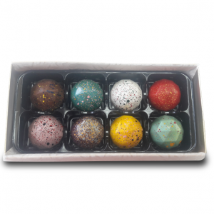 box of 8 luxury handmade truffles. What's not to love?