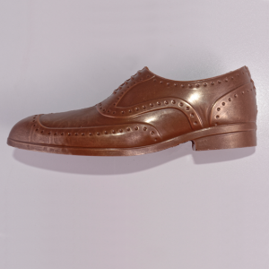 Smart Chocolate Brogue Shoe