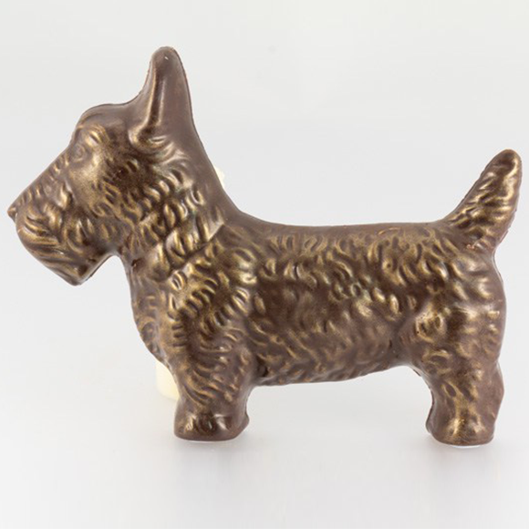 chocolate scottie dog