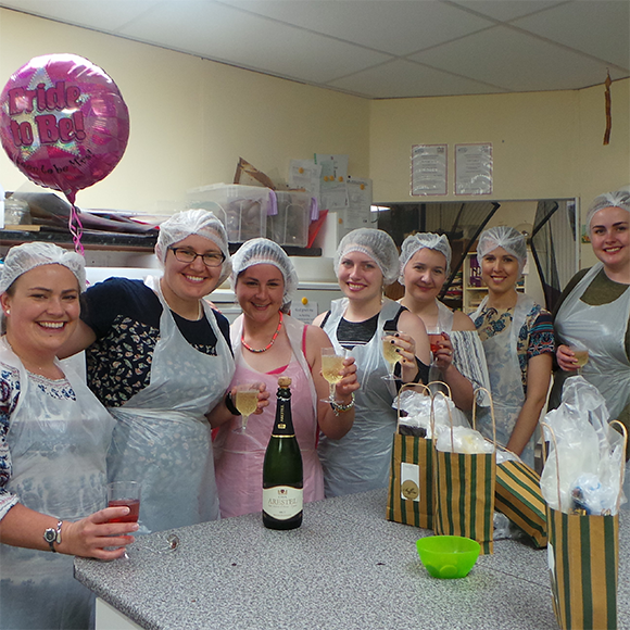 Chocolate making hen party