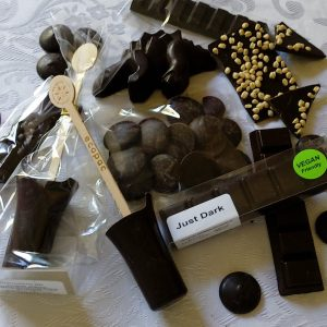 Selection of Vegan Chocolate lockdown Survival Kit