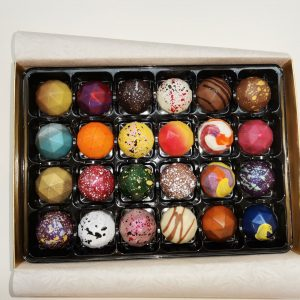 Box of 24 luxury handmade truffles