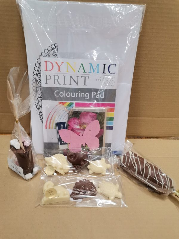 chocolate activity pack